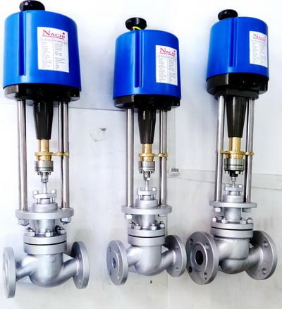 Electric actuator linear control valve