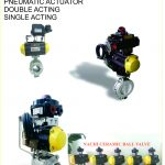 PNEUMATIC ACTUATOR MOUNTING WITH VALVE